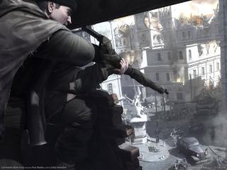 обои Commandos Strike Force - Стрельба сверху фото
