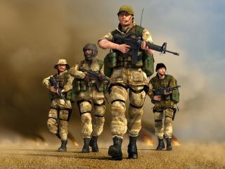 обои Conflict: Desert Storm 2: Back to Baghdad - Команда фото
