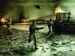 обои Conflict Zone - Побег фото