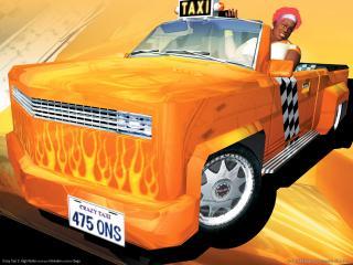 обои Crazy Taxi 3 - High Roller - Пикап фото