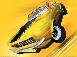 обои Crazy Taxi 3 - High Roller - Такси фото
