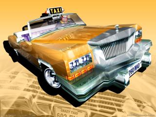 обои Crazy Taxi 3 - High Roller - Taxi фото