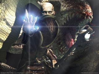 обои Dark Messiah of Might and Magic - Человек-монстр фото
