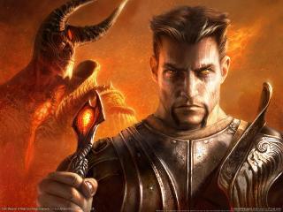 обои Dark Messiah of Might and Magic - Сильный воин фото
