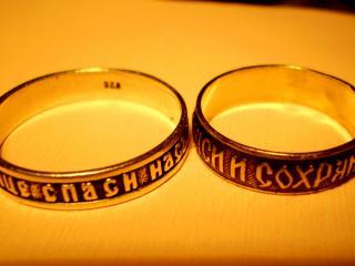 обои Два кольца фото