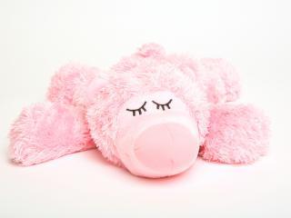 обои Розовый мишка фото