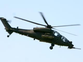 обои Военный вертолет фото