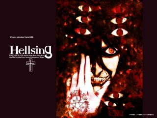 обои Hellsing - глаза фото
