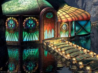 обои Myst 3: Exile - Сказочный дворец фото