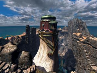 обои Myst 3: Exile - Высокая башня фото