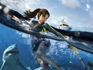 обои Tomb Raider Underworld фото