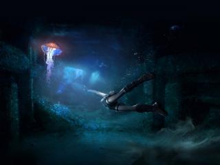 обои Подводный мир фото