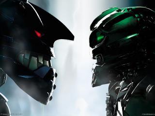 обои Bionicle heroes фото
