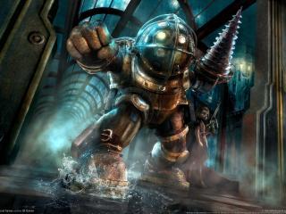 обои Bioshock - мощный кулак фото