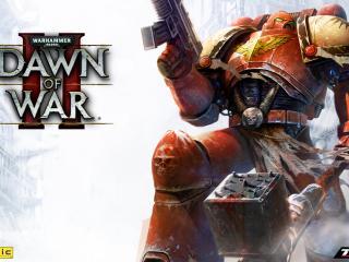 обои Dawn of war 2 - робот фото