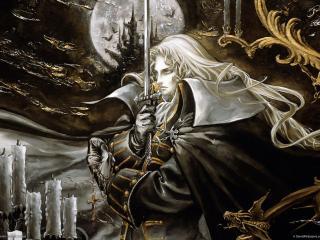 обои Castlevania - вампирша фото