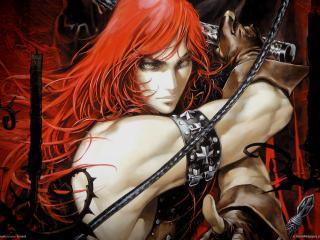 обои Castlevania - рыжая фото
