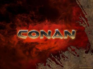 обои Conan - надпись фото
