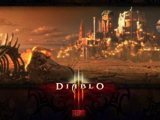 обои Diablo 3 - город фото