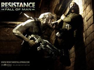 обои Resistance - нападение фото