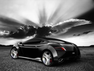 обои Ugur Sahin Design Audi LOCUS ночь фото