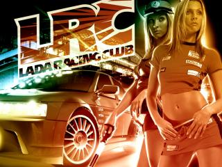 обои Lada Racing Club фото