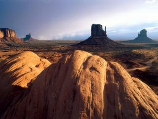 обои Пустыня и булыжники фото