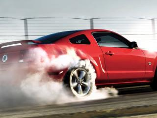обои Ford Mustang Revealed 2009 With Lots фото
