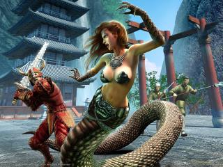 обои Everquest 2 the fallen dynasty фото