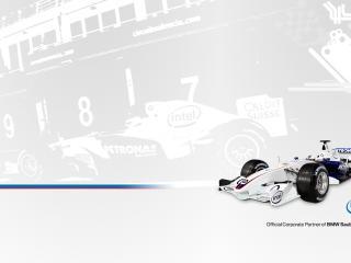 обои Intel - BMW Sauber F1 Team - формула 1 фото
