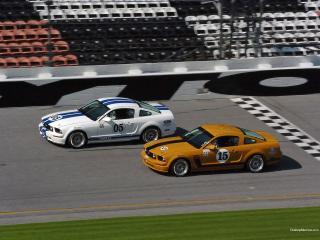 обои Mustang GT Race Car фото