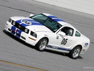 обои Ford Mustang GT Race Car фото