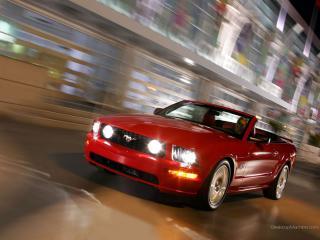 обои Ford Mustang GT Convertible фото
