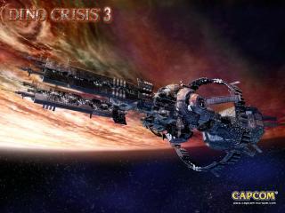 обои Dino Crisi - в космосе фото