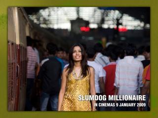 обои Миллионер из трущоб (Slumdog Millionaire, 2008) красавица фото