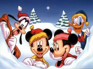 обои Disney christmas фото