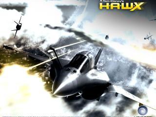 обои Tom Clancys HAWX - во время боя фото