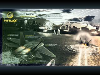 обои Tom Clancys HAWX - полет фото