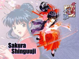 обои Sakura Wars фото
