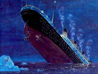 обои Гибель Титаника фото