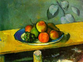 обои Cezanne - Apples, Peaches, Pears and Grapes фото