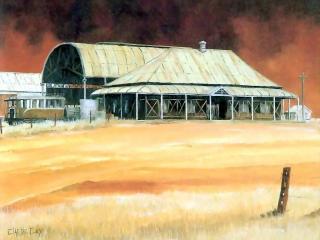 обои Clarrie Cox - Railway Station фото