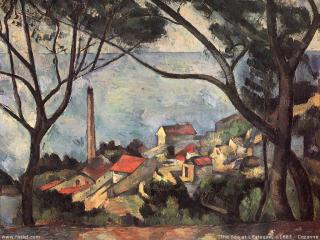 обои Cezanne - The Sea at L фото
