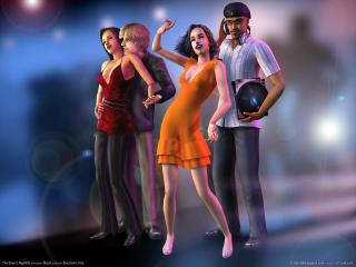 обои The Sims 2 Nightlife фото