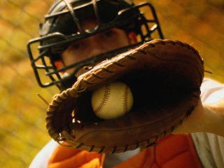 обои для рабочего стола: Уловитель бейсбола