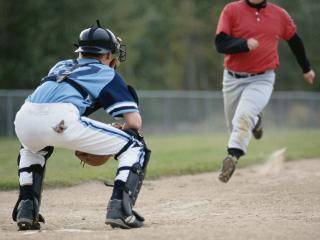 обои для рабочего стола: Бегун бейсбола