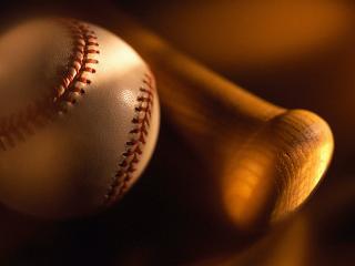 обои Бейсбол и летучая мышь фото