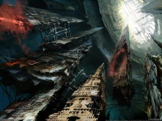 обои Guild wars eye of the north корабль фото