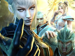 обои Guild wars factions команда фото