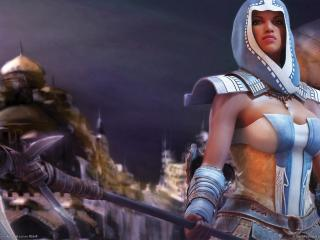 обои Guild wars nightfall фото